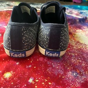 Keds Shoes - Blue and White Pattern Keds